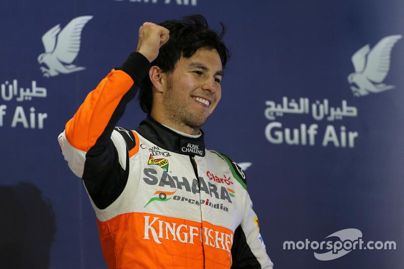 Return to podium (2014 Bahrain GP)