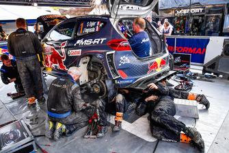 Wagen van Sébastien Ogier, Julien Ingrassia, M-Sport Ford WRT Ford Fiesta WRC