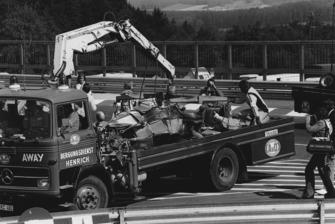 Accidente de Niki Lauda, Ferrari 312T2