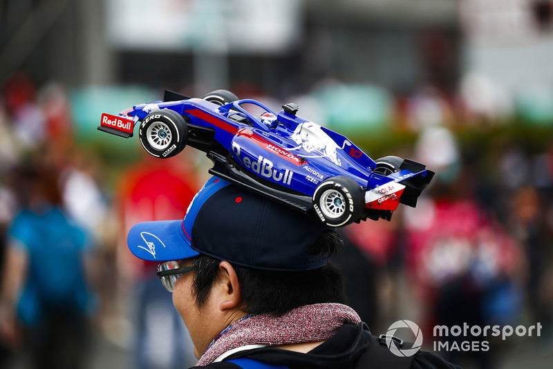 Болельщик Scuderia Toro Rosso
