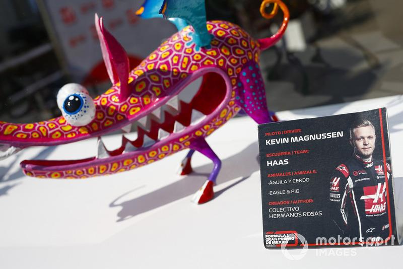 Статуетка Кевіна Магнуссена, Haas F1 Team