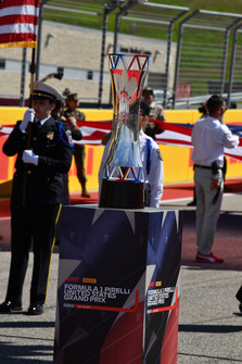 Trophy on the grid Trophy on the grid