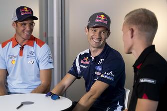 Thierry Neuville, Hyundai Motorsport, Sébastien Ogier, M-Sport Ford WRT, Ott Tänak, Toyota Gazoo Racing