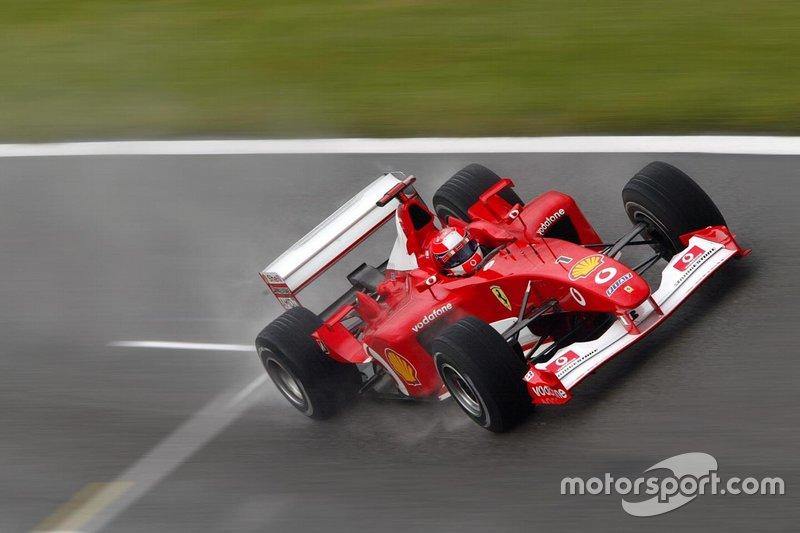 60勝目:2002年イギリスGP