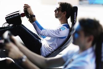 Antonio Felix da Costa, BMW I Andretti Motorsports on the eRace simulators