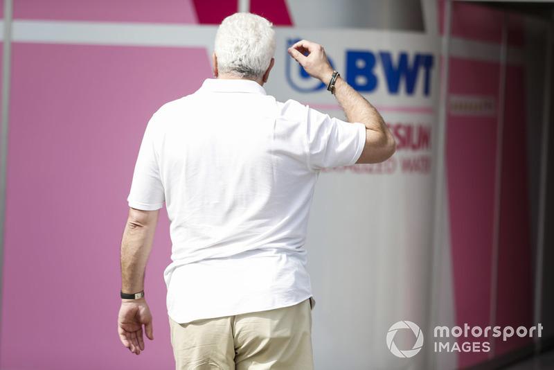Владелец Racing Point Force India F1 Team Лоуренс Стролл