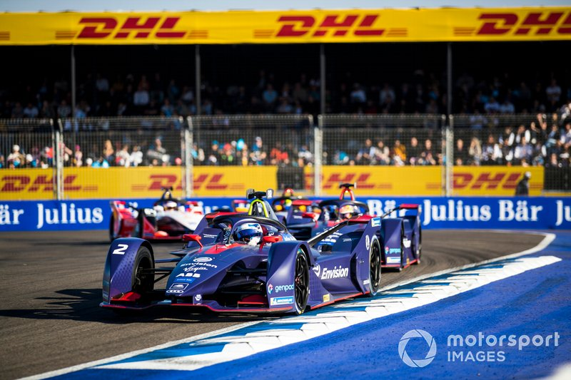 Sam Bird, Envision Virgin Racing, Audi e-tron FE05, Robin Frijns, Envision Virgin Racing, Audi e-tron FE05