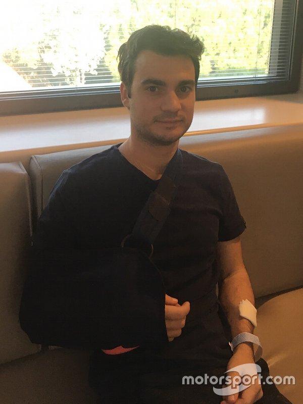 Дані Педроса у медичному центрі Текнон у Барселоні