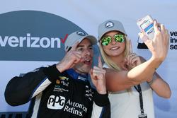 Симон Пажено, Team Penske Chevrolet pole winner
