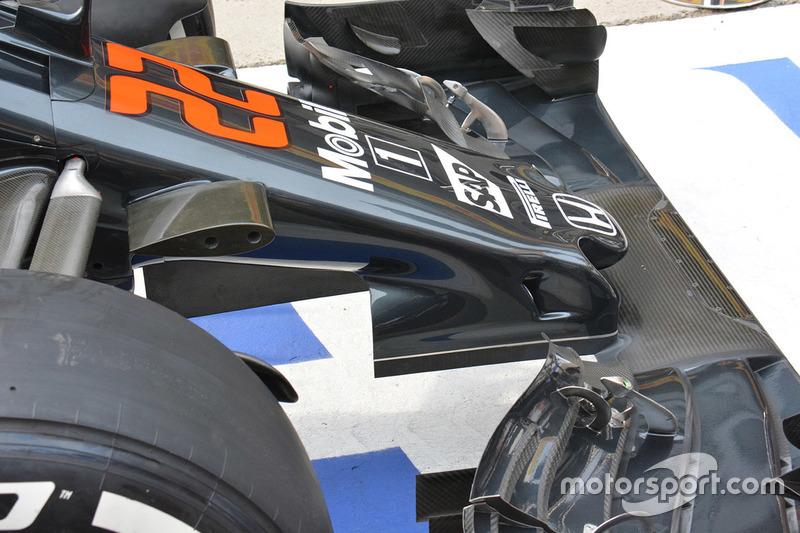 Detail Nase, McLaren MP4-31