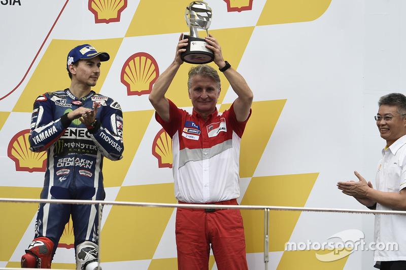 Podio: Paolo Ciabatti, Ducati Corse Sporting Director