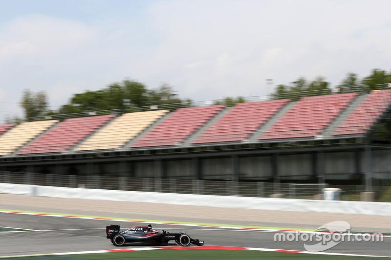 Stoffel Vandoorne, McLaren MP4-31 Test- und Reservefahrer