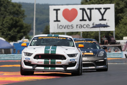 #15 Multimatic Motorsports Ford Shelby GT350R-C: Scott Maxwell, Billy Johnson, #33 CJ Wilson Racing