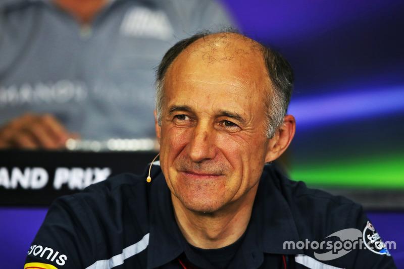 Pressekonferenz: Franz Tost, Scuderia Toro Rosso
