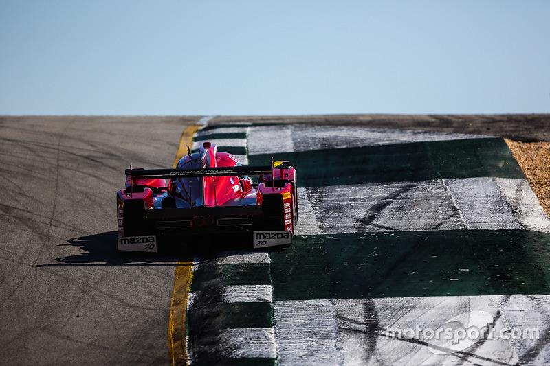 #70 Mazda Motorsports, Mazda Prototype: Joel Miller, Tom Long, Spencer Pigot