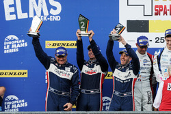 Podium LMP3: second place #2 United Autosports Ligier JSP3 - Nissan: Alex Brundle, Mike Guasch, Christian England