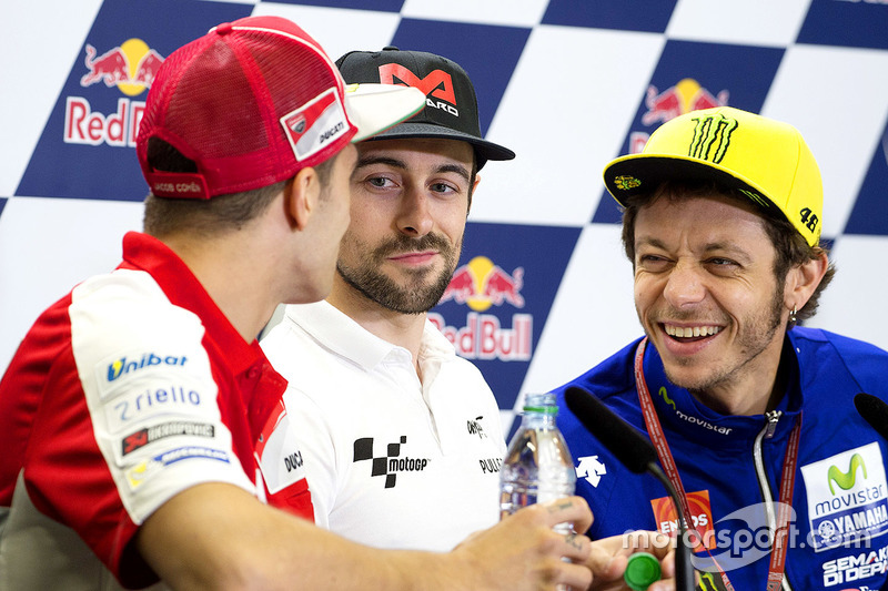 Andrea Iannone, Ducati Team, Eugene Laverty, Aspar Racing Team, Valentino Rossi, Yamaha Factory Racing