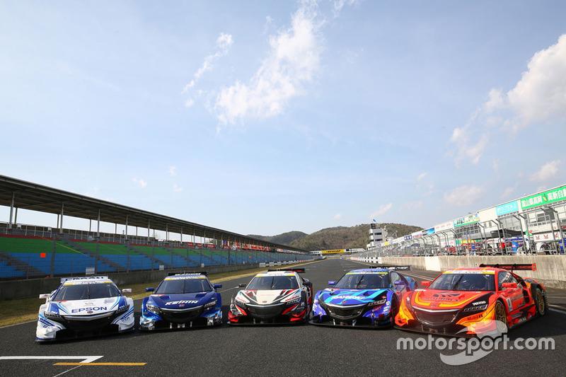 Honda NSX Concept GT group photo