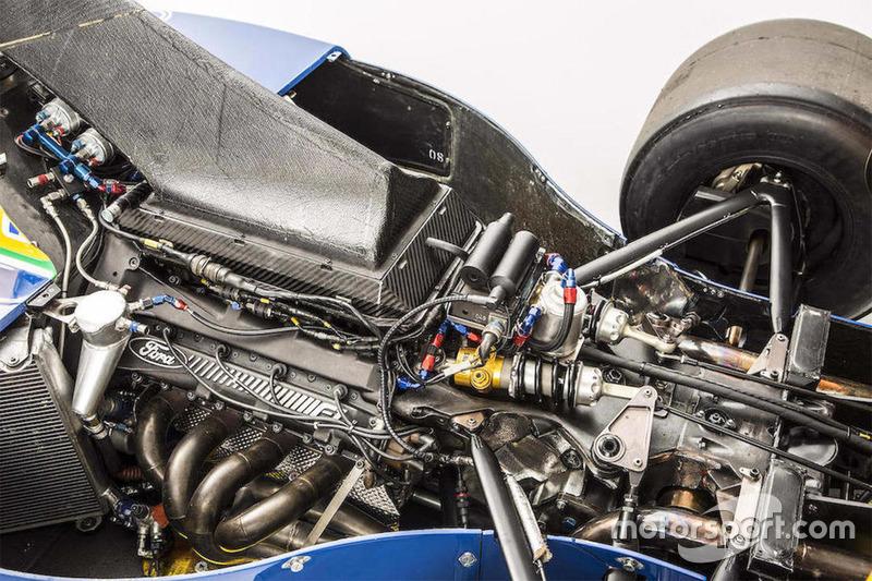 Der Motor des Benetton-Ford B191/191B