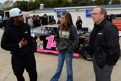 Dylan Smith From Randolf Virgina and Claire Decker from Eagle River Wisconsin talk with Brett Bodine