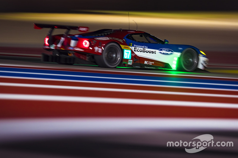 4. GTE-Pro: #67 Ford Chip Ganassi Racing Team UK, Ford GT: Marino Franchitti, Andy Priaulx, Harry Tincknell