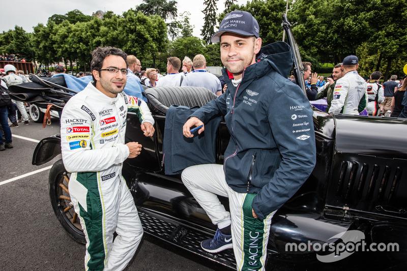 #97 Aston Martin Racing Aston Martin Vantage: Fernando Rees and Richie Stanaway
