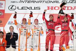 Podyum GT500: 1. #38 Team Zent Cerumo Lexus RC F: Yuji Tachikawa, Hiroaki Ishiura, 2. #36 Team Tom's Lexus RC F: Daisuke Ito, James Rossiter