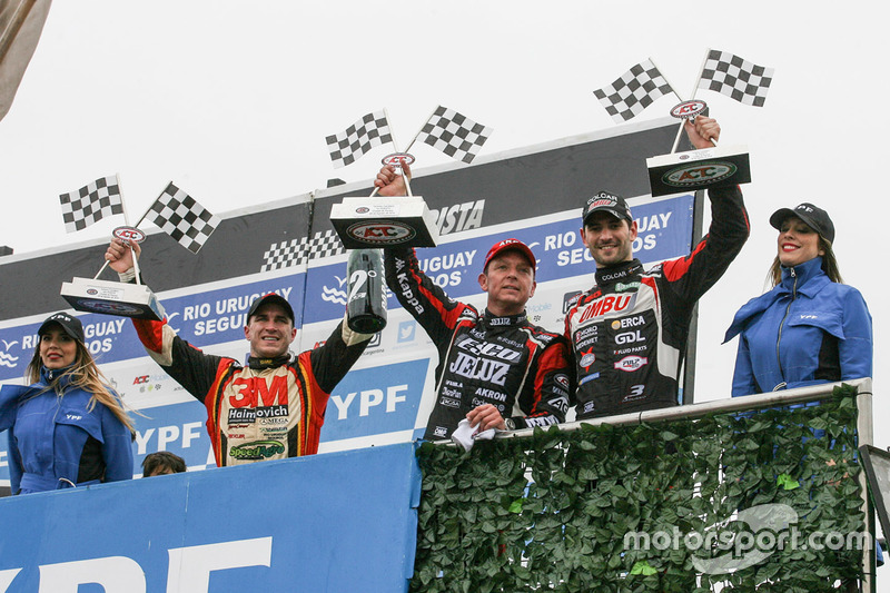 Podyum: 2. Mariano Werner, Werner Competicion Ford, 1. Guillermo Ortelli, JP Racing Chevrolet