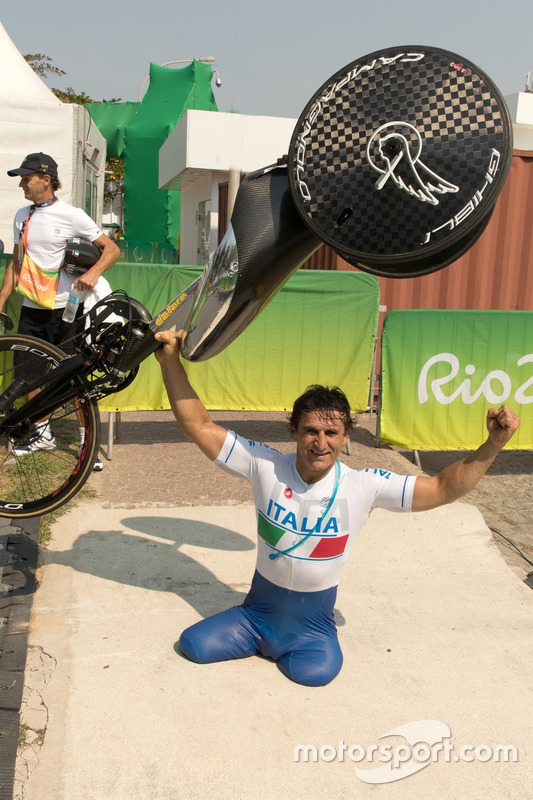 Alex Zanardi at the Rio de Janeiro Paralympic Games