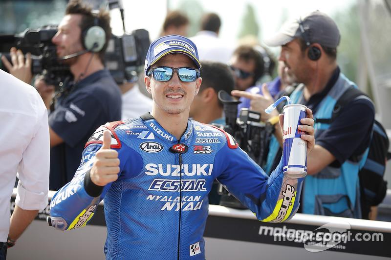 Il terzo qualificato Maverick Viñales, Team Suzuki Ecstar MotoGP