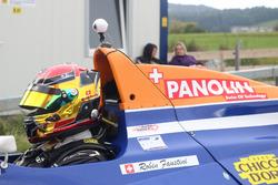 Robin Faustini, Reynard 92D-Cosworth, ACS, Cockpit