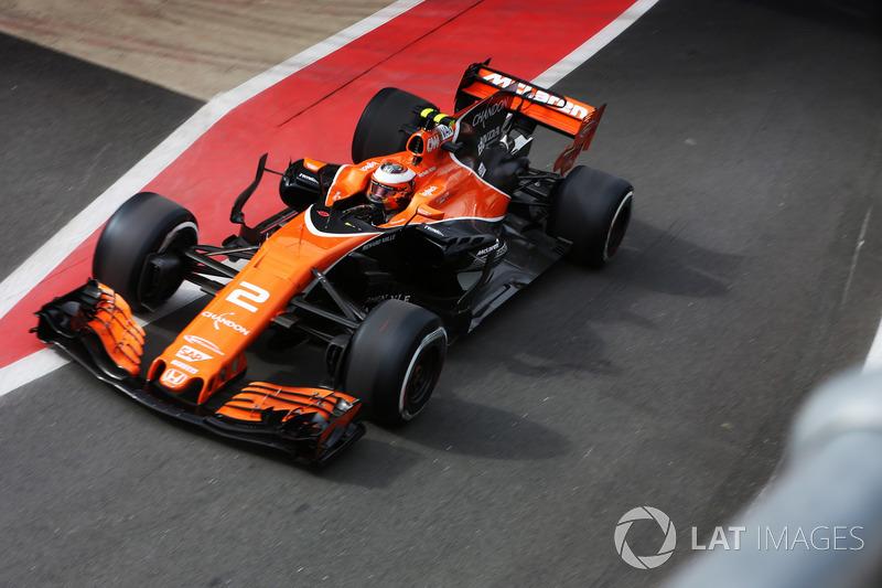 2015 – 2017: McLaren