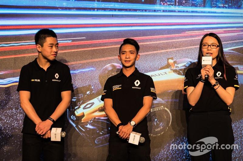 Yueyang Sun,Renault Sport Development Driver