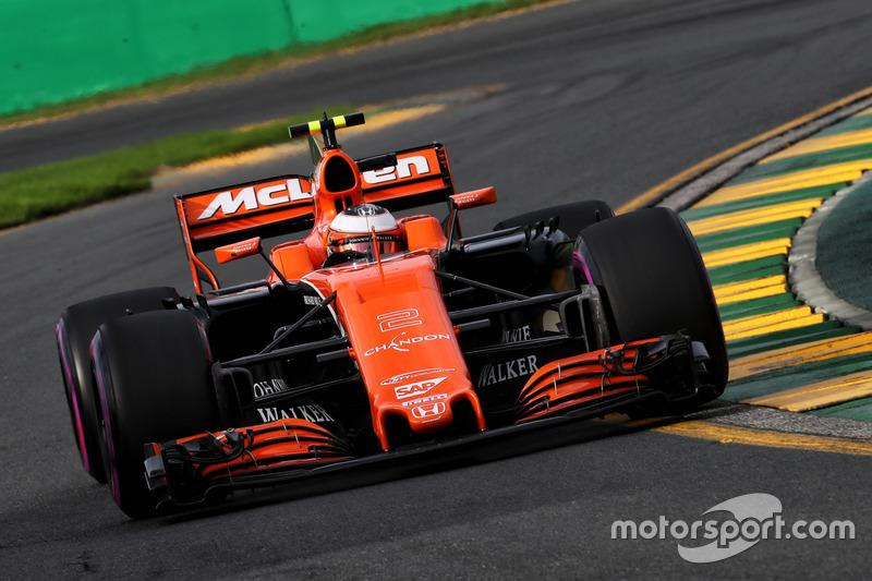 18. Stoffel Vandoorne, McLaren MCL32