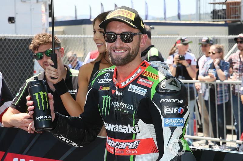 Володар поул-позиції Том Сайкс, Kawasaki Racing