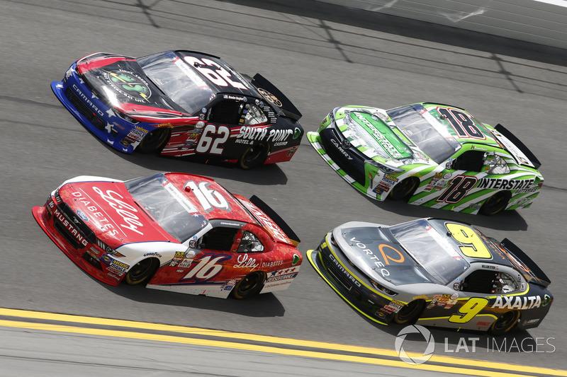 Ryan Reed, Roush Fenway Racing Ford Brendan Gaughan, Richard Childress Racing Chevrolet