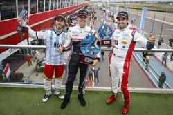 Победитель Ян Эрлаше, RC Motorsport, второе место – Эстебан Герьери, Campos Racing, третье место – Меди Беннани, Sébastien Loeb Racing