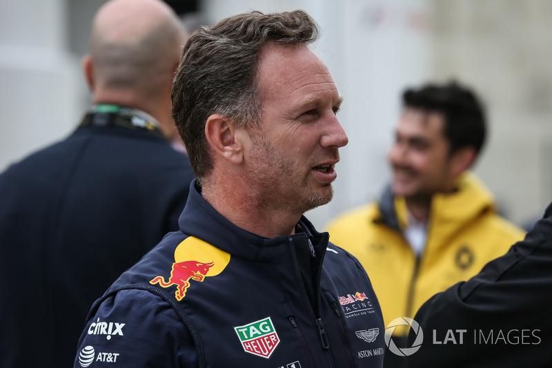 Christian Horner, jefe de equipo de carreras de Red Bull Racing Team