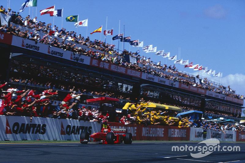 1999 - Eddie Irvine, Ferrari