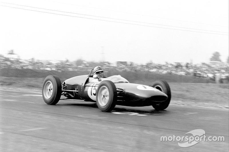 Innes Ireland (Lotus) - GP États-Unis 1961
