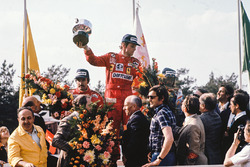 1. Niki Lauda, Ferrari; 2. Clay Regazzoni, Ferrari; 3. Jacques Laffite, Ligier