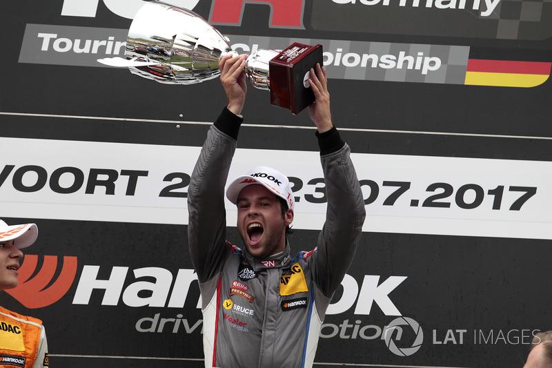 Podium: Sieger Niels Langeveld, Racing One, Audi RS3 LMS