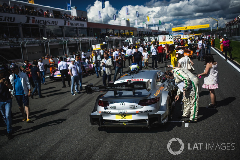 Машина Маро Енгеля, Mercedes-AMG Team HWA, Mercedes-AMG C63 DTM