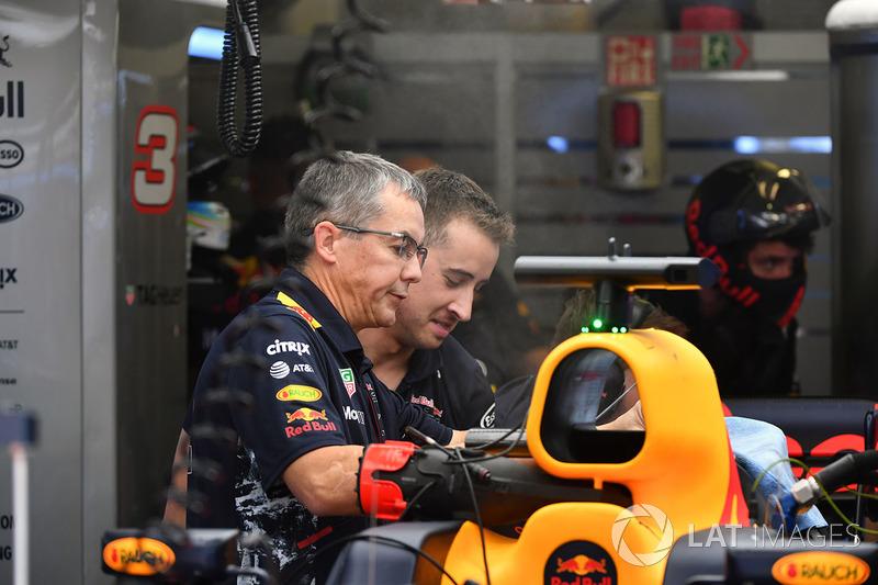 Red Bull Racing, mecánicos