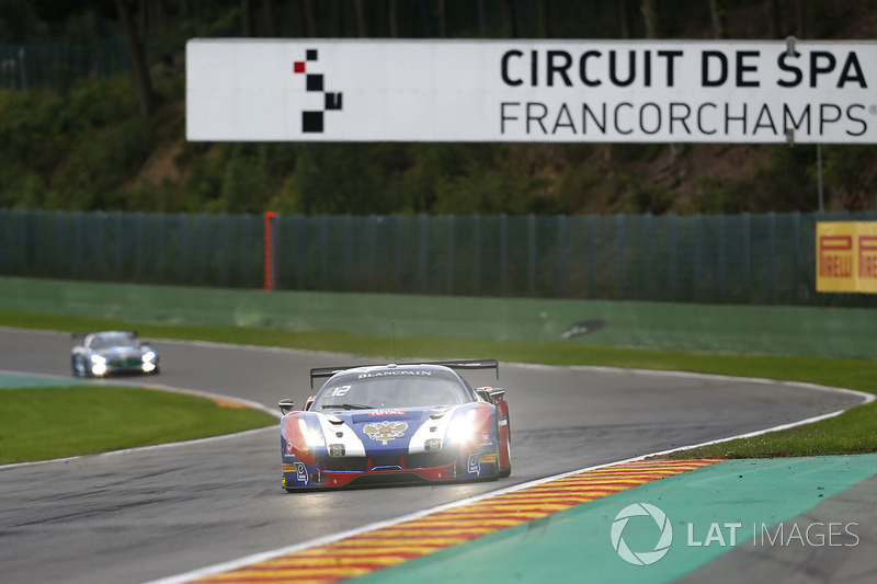 #72 SMP Racing Ferrari 488 GT3: Victor Shaytar, Miguel Molina, Davide Rigon