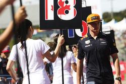 Max Verstappen, Red Bull, nella drivers parade