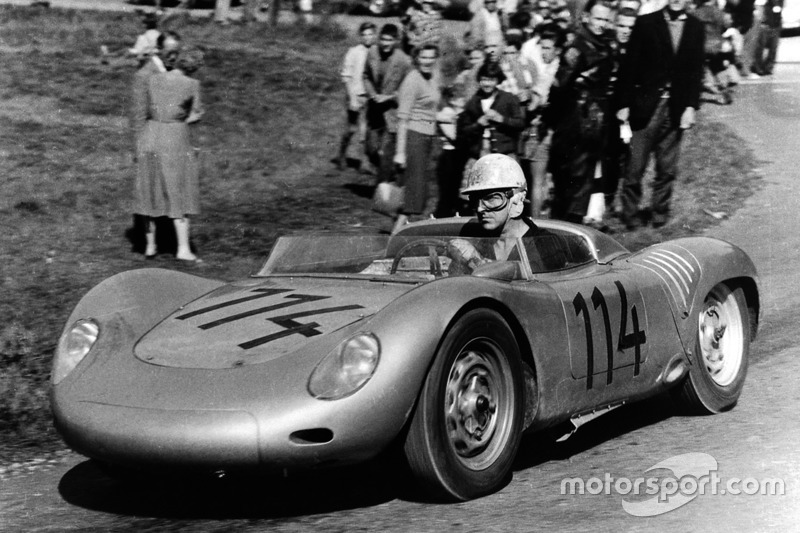 Porsche de 1958 en el Europeo de montaña