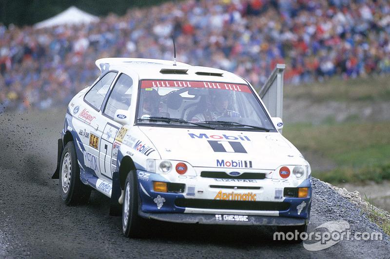 Tommi Makinen, Seppo Harjanne, Ford Escort RS Cosworth