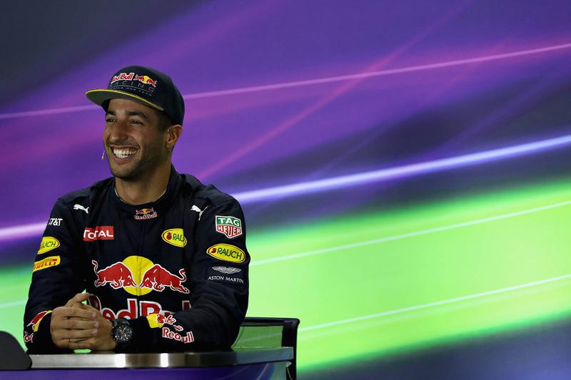 Conferencia de prensa: tercera posición Daniel Ricciardo, Red Bull Racing