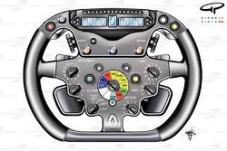Renault R29 steering wheel
